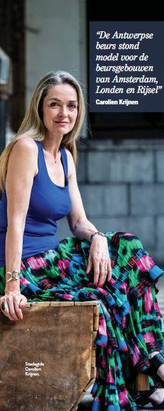 Carolien Krijnen in Citta Oude Beurs