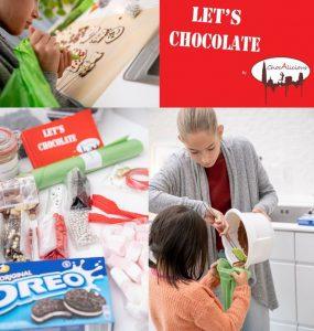 Lets chocolate chocoladeworkshop at home